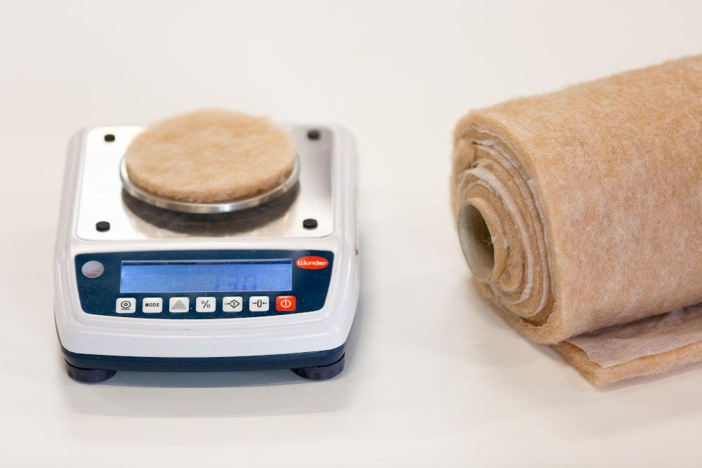 padding method in textiles